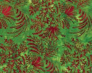 """Batiks """"Strawberry""""-Hoffman Fabrics-BTY"""