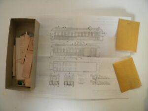 HO scale, LaBelle HOn3 D&RG combine wood kit