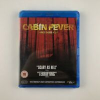 Cabin Fever (Directors Cut) (Blu-ray, 2010) *New & Sealed*