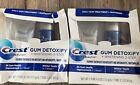 2 Pack Crest Gum Detoxify Plus Whitening 2 Step Toothpaste EXP 1/2023 DAMAGED BX