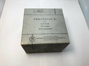VTG Condenser A No. 2 Kodak Precision Enlarger  2 Inch Projection  NO. A 1005