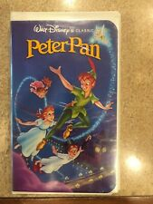 CLASSIC WALT DISNEY BLACK DIAMOND PETER PAN VHS Original Year release 1990