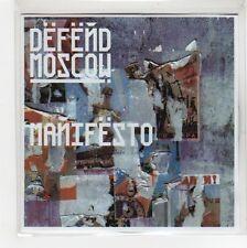 (GE993) Defend Moscow, Manifesto - 2009 DJ CD