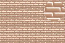 Slaters Embossed Plastikard NO.0403 1:72 Brick Grey
