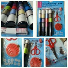 Completo Kit De Costura - 65 Pieza-Medida Aguja Pins Algodón botón accesorio Kit