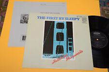HIDEHIKO MITSUMOTO LP FIRST BY SLEEPY JAZZ NM AUDIOFILI JAPAN PRO USE !!!!!!!!!