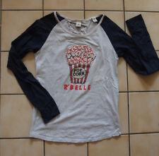 T-shirt manches longues bicolore Scotch R'Belle  - Taille 16 ans