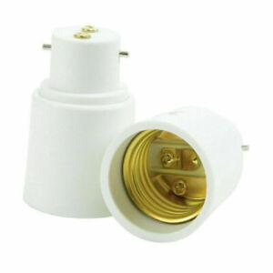 Lamp Light Bulb EDISON Screw E27 To B22 OR B22 To E27 Bayonet Adapter Converter