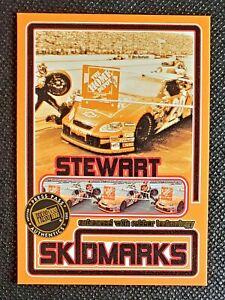 Tony Stewart 2005 Press Pass Eclipse Skidmarks #SK-13 race used rubber