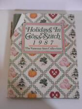 Holidays In Cross Stitch 1987 Vanessa-Ann Christmas Easter Hallowee +++ Patterns