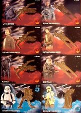 STAR WARS ROGUE ONE BRONZE MEDALLION (8) CARD LOT