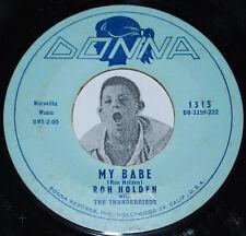"R&B Screamer 45~RON HOLDEN~My Babe /Love You So~Donna Records Original 7"""