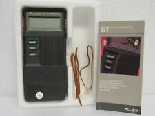 Fluke 51 K/J Handheld Digital Thermometer