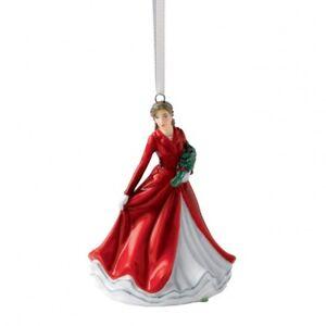 Royal Doulton Deck the Halls Figurine Christmas Ornament New