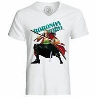 T-shirt roronoa zoro one piece pirates manga