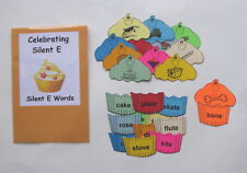 Teacher Made Literacy Center Educational Resource Game Silent E Words