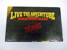 GI JOE LIVE THE ADVENTURE CATALOG Invade Cobra Island Variant COMPLETE 1986