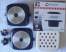 Cuit Vapeur Induction 24X24 - Fonte/Alu Céramique - CUB' EUROMENAGE - LK0120500C