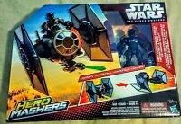 Disney Star Wars Hero Mashers Episode VII TIE Fighter and TIE Fighter Pilot Free