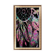 Hot!! 5D DIY Diamond Painting Dream Catcher Embroidery Cross Stitch Home Decor
