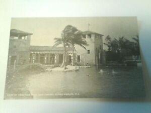 FLORIDA:  VENETIAN POOL AND CASINO - CORAL GABLES - VINTAGE UNUSED POSTCARD
