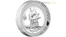 1 $ Dollar Hartog Australian Landing High Relief Australien 1 oz Silber PP 2016