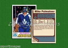 Mike Palmateer - Toronto Maple Leafs - Custom Hockey Card  - 1976-77