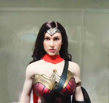 """1/6 Scale Wonder Woman B Ver. Head Sculpt For 12"""" PHICEN Action Figure Body Toy"""