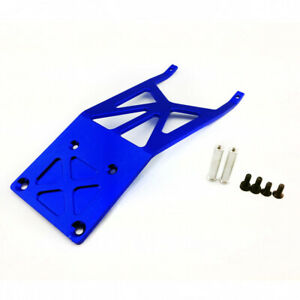 Traxxas Slash 2WD 1:10 Alloy Front Skidplate, Blue by Atomik - Replaces TRX 5837