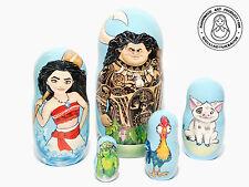 Rabbi Nesting Dolls 5 pcs Matryoshka 6.25/'/'//16cm