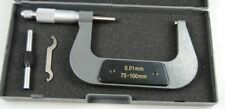 75-100 MM MICROMETER METRIC WITH CARBIDE ANVILS QUALITY