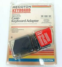 Recoton Heavy Duty Casio Keyboard Adapter for Multiple Models