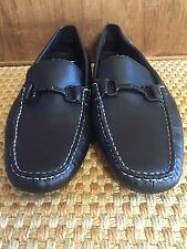 Calvin Klein Magnus Leather Mens Slip-On Loafers Driving Mocassins Size 12 M