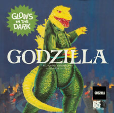 Atlantis 466 Godzilla King of the Monsters diorama glow plastic model kit 1/500