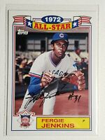 2014 Topps Archives Fergie Jenkins Autograph Card Cubs Red Sox  Rangers Auto