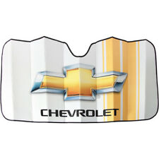 Chevy Bowtie Car Truck SUV Universal Front Windshield Accordion Sun Shade NEW