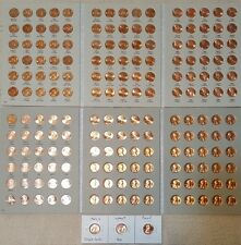 New listing 1959-2017 Lincoln Memorial Cent Collection P D S + Bu Wheat Penny & Proof