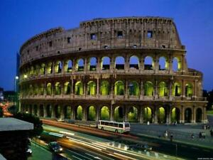 Poster Colosseum As ROM Rome Coliseum Stadt' City Italien Italy Panorama Fotos #