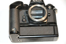 Nikon FE 35mm SLR Film Camera Body with MD-12 motor drive In Excellent Condition