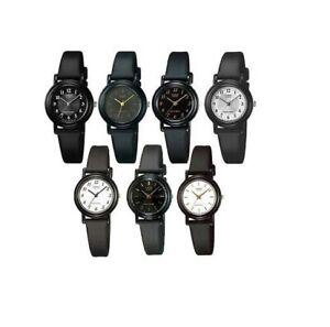 Casio Ladies Quartz Analogue watch LQ-139 Resin Black Strap Various Designs