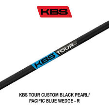 KBS TOUR CUSTOM BLACK PEARL/PACIFIC BLUE WEDGE SHAFTS - R / S / X FLEX