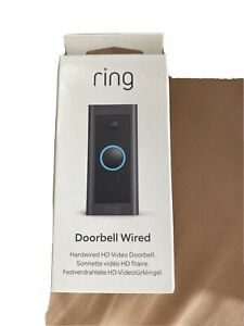 Ring Video Doorbell Wired – HD Video, Advanced Motion Detection. BRAND NEW.