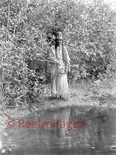 New Art Print 1905 Edward Curtis Photo Nespelim Indian Maiden Washington 11X17