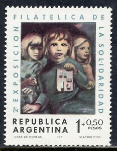 1058 - Argentina 1971 - The 2nd Charity Stamp Exhibition - MNH Set