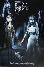 """CORPSE BRIDE POSTER """"THERE'S BEEN A GRAVE MISUNDERSTANDING"""" TIM BURTON"""
