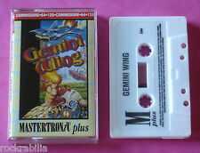 Commodore 64 C64 - Mastertronic GEMINI WING Tecmo 1990 *NEW!