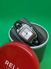 LADIES RELIC WATCH, LEATHER STRAP New Battery