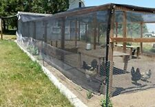 Shatex 6x15ft 90% Uv Block Outdoor Sunscreen Roll Shade Cloth Sun Shelter Black
