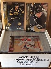 2015-16 Upper Deck Series 2 Complete Base Sets FOIL