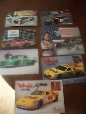 NASCAR DRIVERS LARGE POST CARD COLLECTION AUTOGRAPHED CARL YARBOROUGH LOT